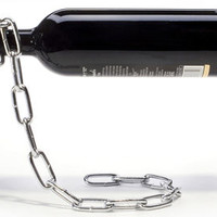 Chaîne Bottle holder Metal by Pa Design
