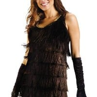 Black Flapper Adult Costume