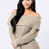 Jersey Girl Sweater - Camel