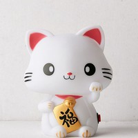 Smoko Lucky Meow Cat Light   Urban Outfitters