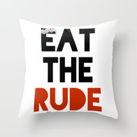 Hannibal Throw Pillow by fyyff