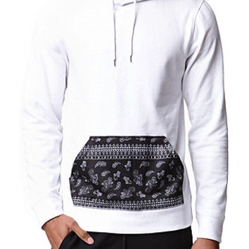 On The Byas Getty Printed Lightweight Hoodie at PacSun.com
