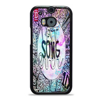 One Direction best song ever band galaxy HTC One M8 Case