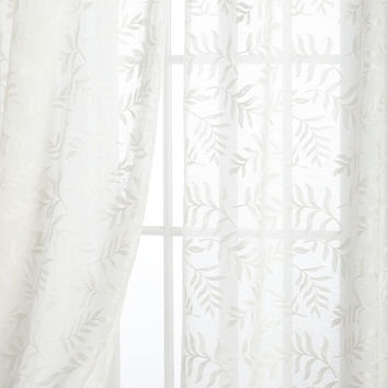Sherry Kline Home Each 52W x 96L Garden Affair Sheer