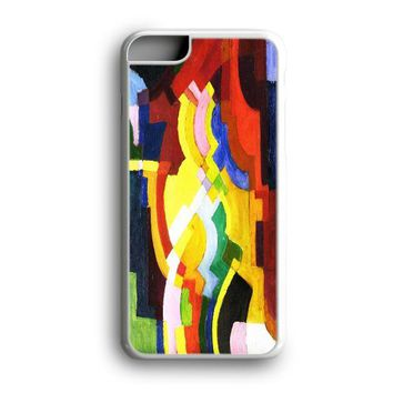 Black Friday Offer August Macke Abstract Cubist Painting Art iPhone Case & Samsung Case