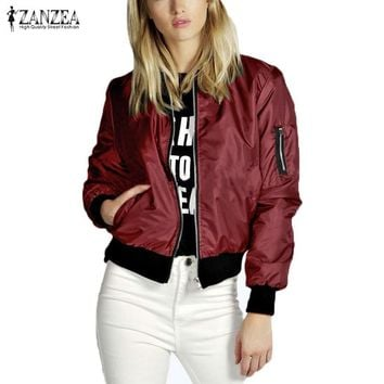 Women Thin Casual Outerwear Jacket