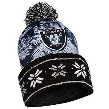 NFL Oakland Raiders Light Up Knit Hat