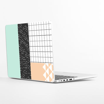 Unfolding Blob Laptop Skin