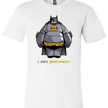 Disney Big Hero 6 - I am Batmax!  or BayMax + Batman