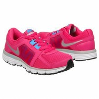 Athletics Nike Women's Dual Fusion Fireberry/Mtlc Silve FamousFootwear.com