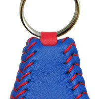 Chicago Cubs Team Color Baseball Keychain