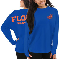 Florida Gators Women's Sweeper Long Sleeve Top – Blue
