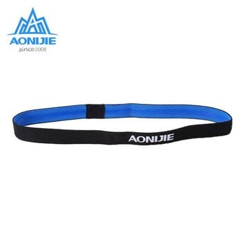 AONIJIE Anti-Slip hairband Sports Elastic Headband Hairbands Yoga Polyester Rubber Hairbands For Camping Hiking Accessories