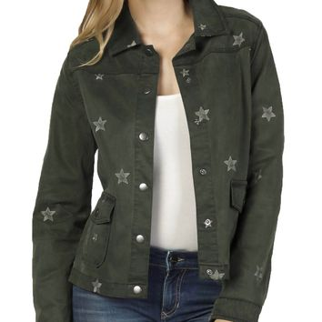 Dear John Paradise Green Nash Star Jacket