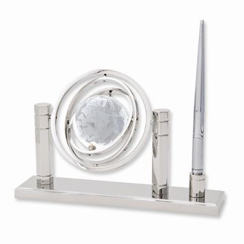 Crystal Globe Pen and Stand