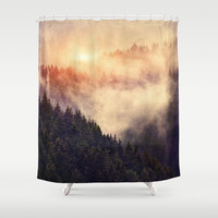 In My Other World Shower Curtain by Tordis Kayma