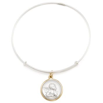 Alex and Ani Cherub Charm Bangle - 14kt