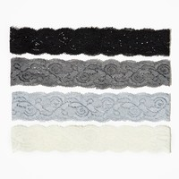 Everyday Lace Hair Wrap Set | Hair Accessories | charming charlie