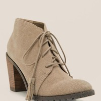 Restricted - park view lace-up atssel bootie