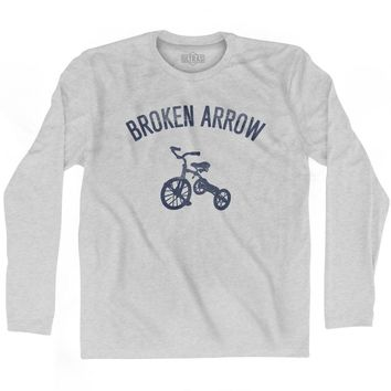 Broken Arrow City Tricycle Adult Cotton Long Sleeve T-shirt
