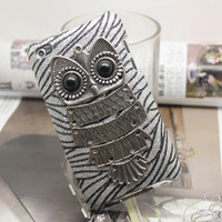 Owl Case cover for iPod  Touch 4 Case Cover