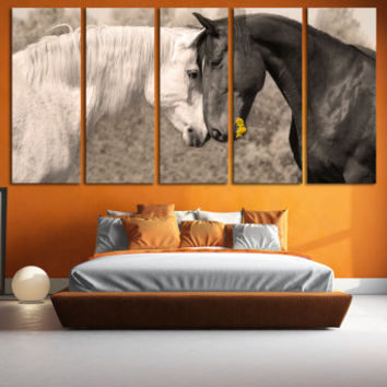 Horse Photography Canvas Print Wall Art / Western Horse Decor Giclee Fine Art Canvas Print Nature Photography Wall Art Farmhouse Decor