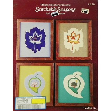 Stitchable Seasons - Counted Cross Stitch Leaflet
