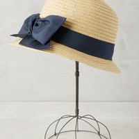 Cumberland Cloche by Anthropologie in Neutral Size: One Size Hats