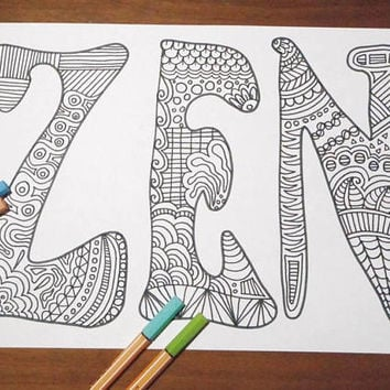 zen colouring book page zentangle relax yoga art therapy coloring page adults relax download colouring meditation printable lasoffittadiste