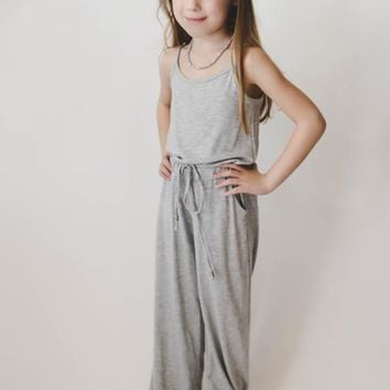 Girls Jumpsuit - Gray