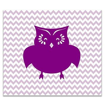 Owl I Children's Print Wall Art