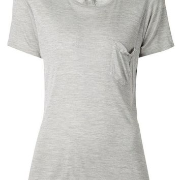 DCCKIN3 Saint Laurent slouch pocket T-shirt