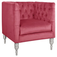 Adella Arm Chair in Bling