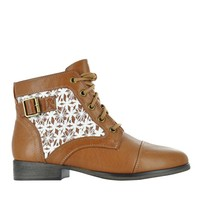 SD MADDEN GIRL FRONT LACE CROCHET DETAIL   The Shoe Company