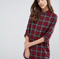 Jack Wills Maggie Checked Shirt Dress
