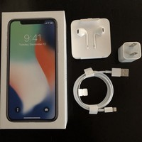 Apple iPhone X - 64GB - Silver AT&T