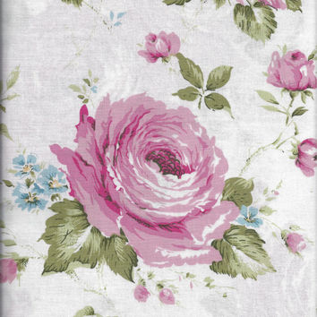 New, Quality Quilting Fabric BY the YARD, Rhapsody in Bloom by Maywood Studio, Pink Roses