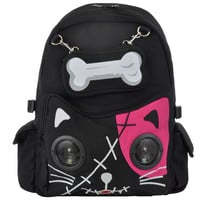 Banned Cat Bone backpack, speaker bags, Banned bags, womens backpack UK