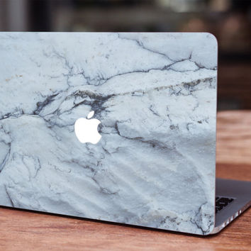 Marble white MacBook skin decal laptop sticker vinyl decal