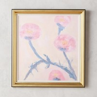 Pink Rose Wall Art