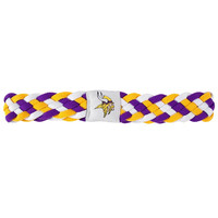 Minnesota Vikings NFL Braided Head Band 6 Braid