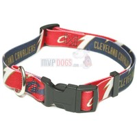 Cleveland Cavaliers NBA Dog Collar