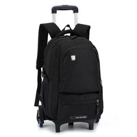 Boys Backpack Bag Removable Trolley school  Wheeled Bags Children School Bag girls Travel Bags Child School s kids schoolbags AT_61_4