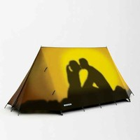 FieldCandy Silhouette Tent- Yellow One