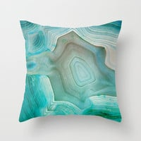 THE BEAUTY OF MINERALS 2 Throw Pillow by Catspaws