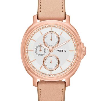 Fossil Round Dial Watch
