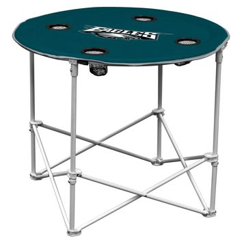 Philadelphia Eagles Round Tailgate Table