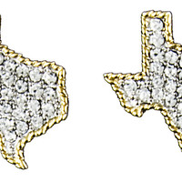 Taylor Brands Texas Earrings
