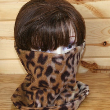 Polar Fleece Neck Warmer - ski neck gaiter