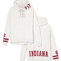 Indiana University Cowl-Neck Pullover - PINK - Victoria's Secret
